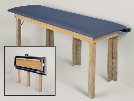 Hausmann 4075 Wall Folding Table 72 24